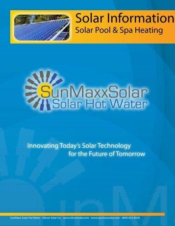Solar Information - SunMaxx Solar