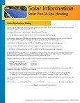 Solar Information - SunMaxx Solar - Page 5