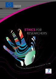 Ethics for Researchers - Expected Calls