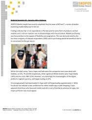 M-Retail Snapshot #1: Security still a challenge SKOPOS Market ...