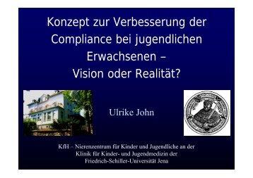 Konzept zur Verbesserung der Compliance bei jugendlichen ...
