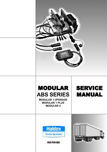 MODULAR ABS SERIES SERVICE MANUAL - Well Interparts Online