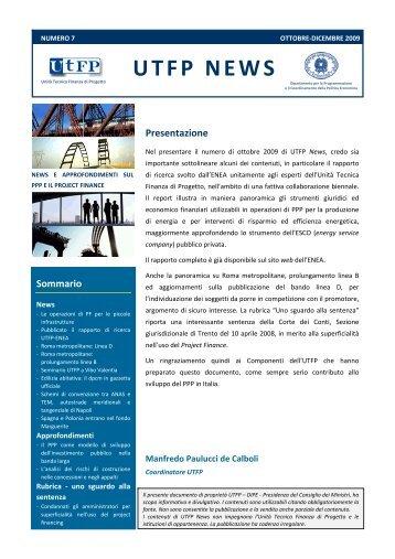 UTFP News Numero 7