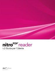 Nitro Reader 2 Guida per l'utente