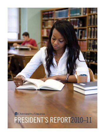 University of Virginia Financial Statements report for the ...At the ...