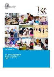 Vorrevangskolen_Baggrundsrapport (pdf 414 KB) - Aarhus.dk