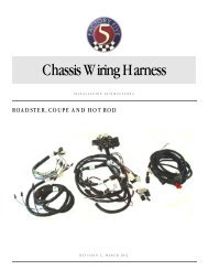 Chassis Wiring Harness - Ron Francis Wiring
