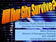 Will Your Community Survive? - The 2012 Integrated Medical, Public ...