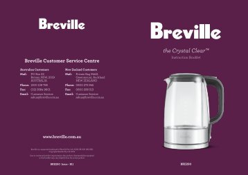 the Crystal Clear™ - Breville