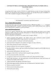 Bozza contratto palestre da novembre 2011 Teola.pdf - Intranet ...