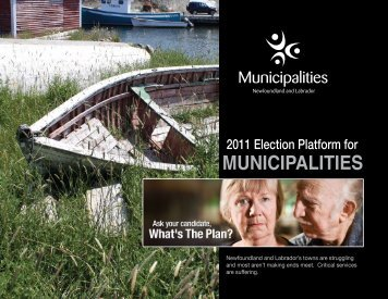 Municipalities Newfoundland and Labrador