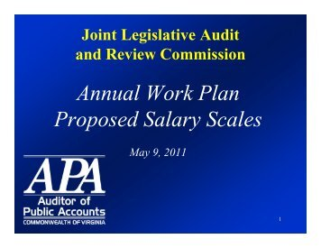 Download - Virginia Auditor of Public Accounts