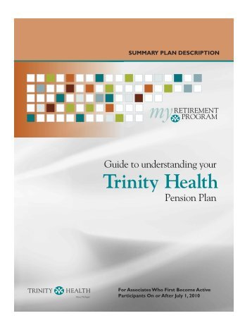 Distribution Request  Trinity Health Retirement Program