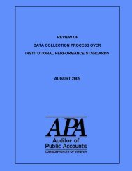 Review of Data Collection Process over Institutional Performance ...