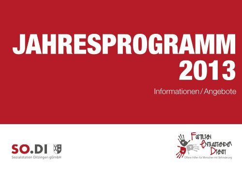 FED Programmheft 2013.pdf - SO.DI Sozialstation Ditzingen
