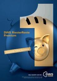 DWS RiesterRente Premium - Delta Lloyd