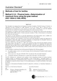AS 2001.2.3.2-2001 Methods of test for textiles ... - SAI Global