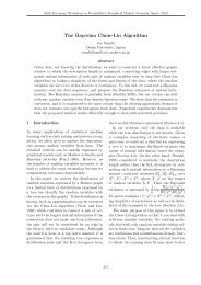 The Bayesian Chow-Liu Algorithm - Universidad de Granada