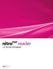 Nitro Reader 2 Guide Utilisateur