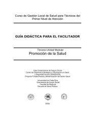 Guía didáctica para el facilitador - CENDEISSS
