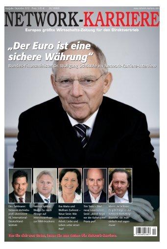 Der Euro ist eine sichere Währung - Touchpoint Management