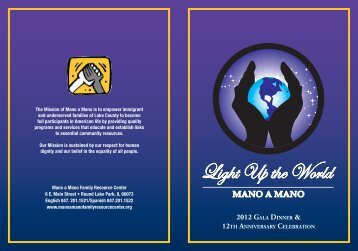 Light Up the World - Mano-A-Mano Family Resource