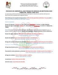 Puebla, a 2 de octubre de 2001 - Centro de Investigación en ...