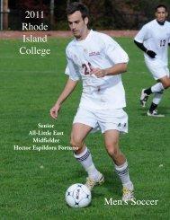 The 2011 Rhode Island College Men's Soccer Team