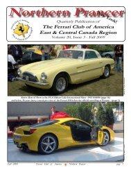 Northern Prancer - Ferrari Club of America - Canada East Region ...