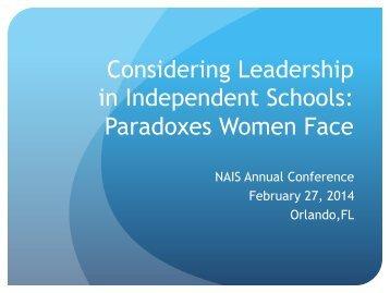Paradoxes, NAISAC14 rev 2-27-14