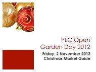 PLC Open Garden Day 2012 - Aussiehome