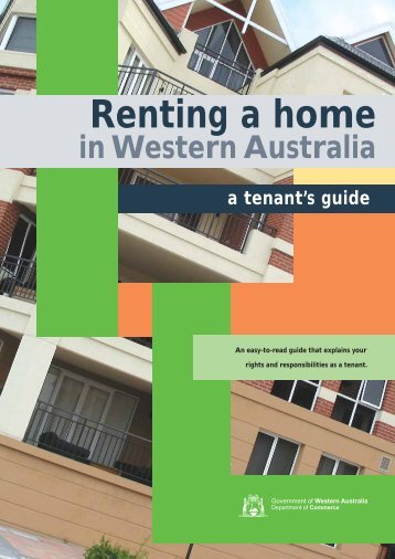 Renting a home in WA - Department of Housing