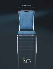 stack chairs - MTS Seating