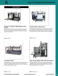 Case Forming/Sealing Equipment - Welcome to North American