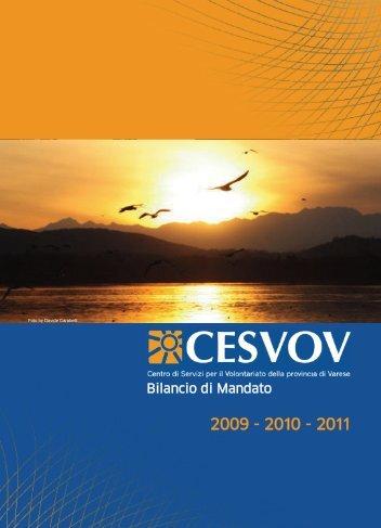 Bilancio di mandato 2009-2010-2011 - Cesvov