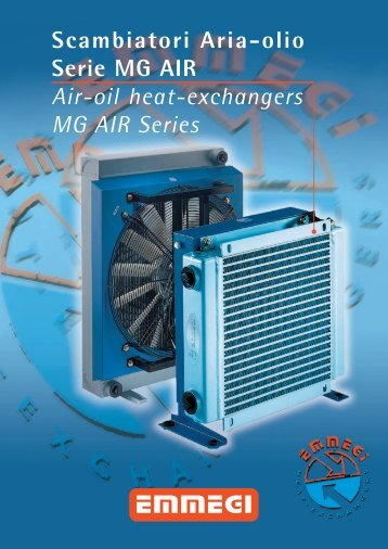 Technical Data - Emmegi Heat Exchangers