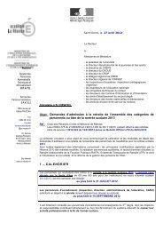circulaire retraites 2013.pdf - Lycée Georges Brassens