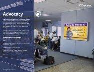 Advocacy - JCDecaux North America