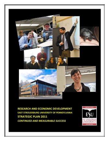 STRATEGIC PLAN 2011 - East Stroudsburg University