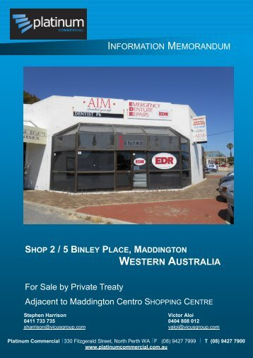 Shop 2, 5 Binley Place Maddington - Aussiehome