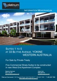 AT 33 BLYTHE AVENUE, YOKINE WESTERN ... - Aussiehome