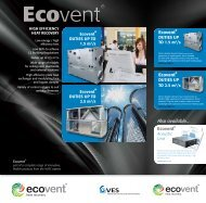 EcoventR EcoventR Ecovent R Also available... - VES