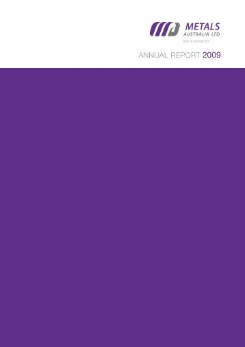 AnnuAl RepoRt 2009 - Aussiehome