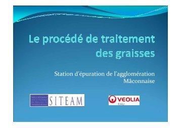 Station d'épuration de l'agglomération Mâconnaise - Ascomade