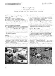 Neonatology in war