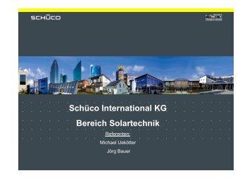 (Microsoft PowerPoint - Sch\374co International KG Bereich ... - CiS