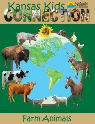 Farm Animals - Kansas Foundation for Agriculture in the Classroom