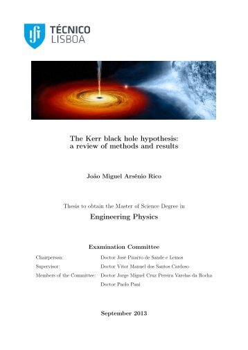 The Kerr black hole hypothesis: Engineering Physics - centra