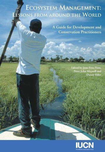 ECOSYSTEM MANAGEMENT: - IUCN Knowledge Network