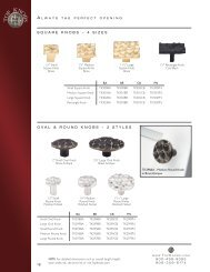 Cobblestone Collection - Top Knobs